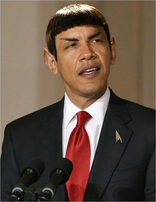 Obama Spock